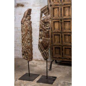 Chisel & Log- Best Antique Sculptures in Singapore