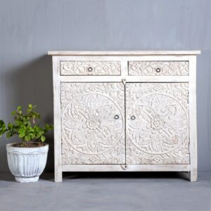 Carved Indian Sideboard in Singapore