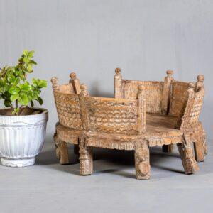 Chisel & Log- Buy Vintage Grinder Tables in Singapore