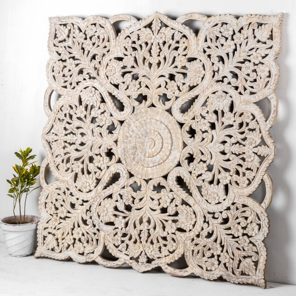 CARVED INDIAN PANEL