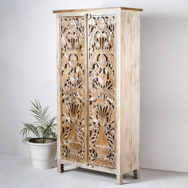 Carved Indian Cupboard