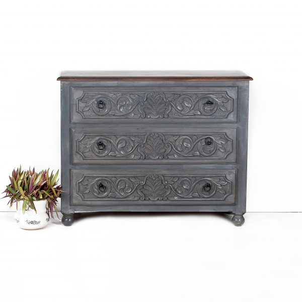 Chest Of Drawers (Grey)