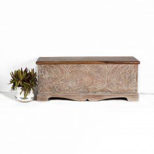 Carved Pitara Chestbox