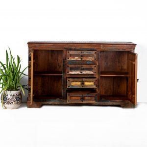 Buy Indian carved sideboards in Singapore- Chisel & Log | vintage furniture in Singapore Online- Chisel & Log